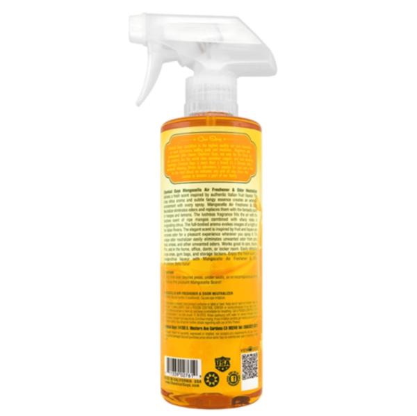chemical guys shop deutschland mangocello scent mango duftspray 473ml 2