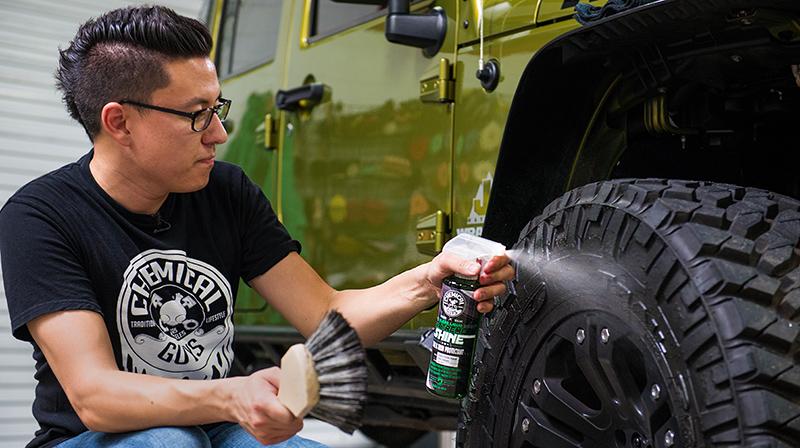 chemical guys shop deutschland extreme shine tore and trim Dressing Reifen und Kunststoff Dressing auffrischen 2