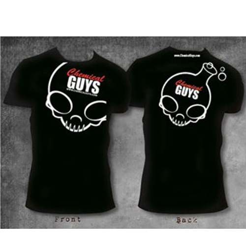 Chemical Guys Shop Skull Shirt