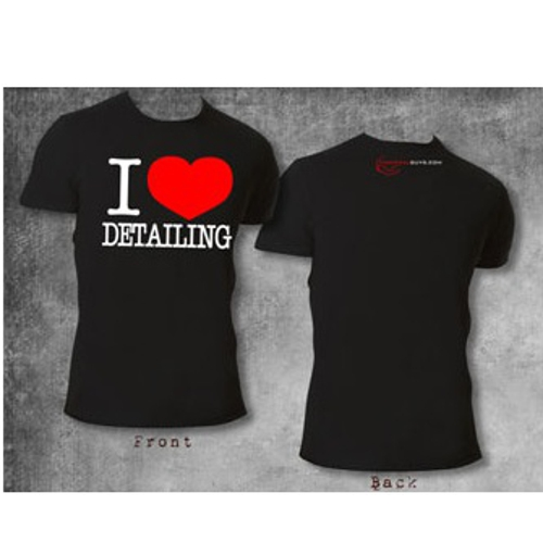 I Love Detailing T Shirt Chemical Guys Shop Deutschland