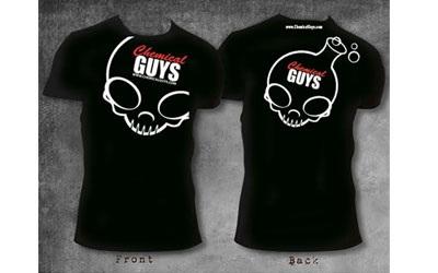 chemical guys skull shirt