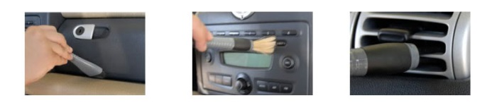 chemical guys shop detailing brush set