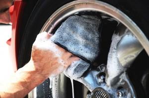 chemical guys shop wheel wegde Handschuh 2