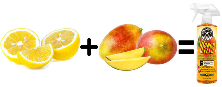 chemical guys shop deutschland mangocello duftspray mango. Black Bedroom Furniture Sets. Home Design Ideas