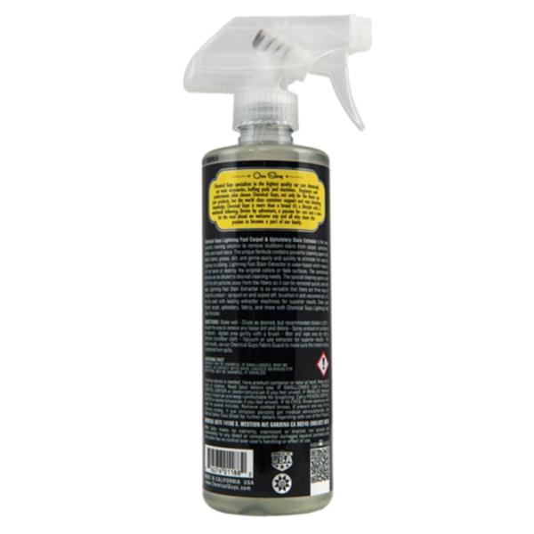 chemical guys shop lightning fast stain extractor tepppich und polster reiniger 1