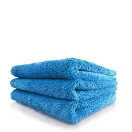 chemical guys shop happy ending towel blue 40x40