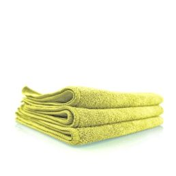 chemical guys shop workhorse towel yellow microfaser gelb interieur