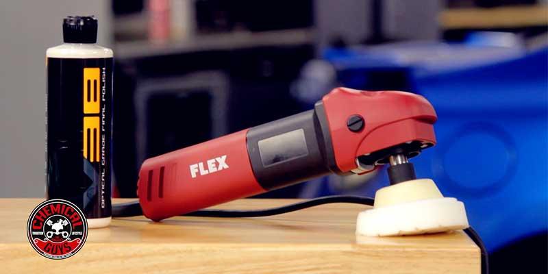 chemical guys shop flex rotationsmaschine kompakt FlexPE8Kompakt-RotaryPolisher