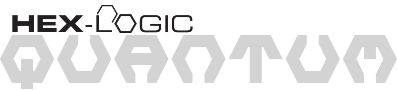Chemical Guys Shop hex logic quantum logo weiß