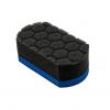 chemical guys shop blue crossed applicator pad hex design