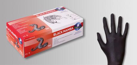 chemical guys shop black mamba latex handschuhe schwarz L
