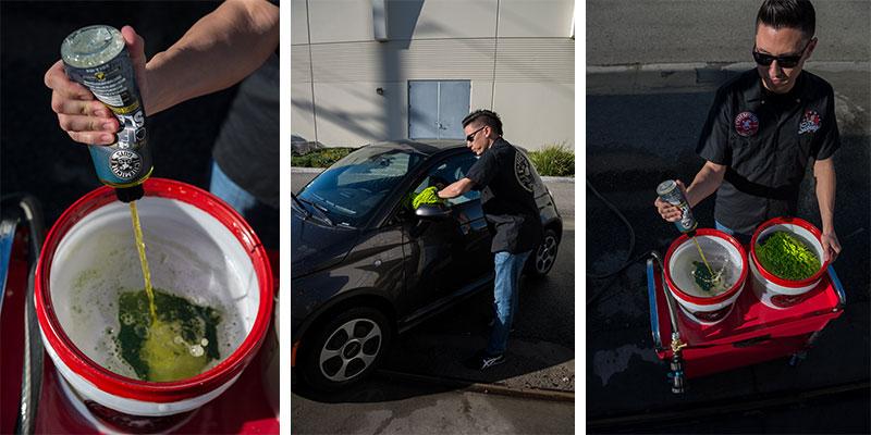 chemical guys shop clean slate stark reinigendes Shampoo mit synthetischen Gleitmitteln 473ml 2