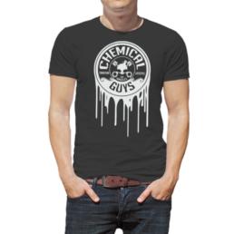 chemical guys shop white dripping logo shirt sema 2015