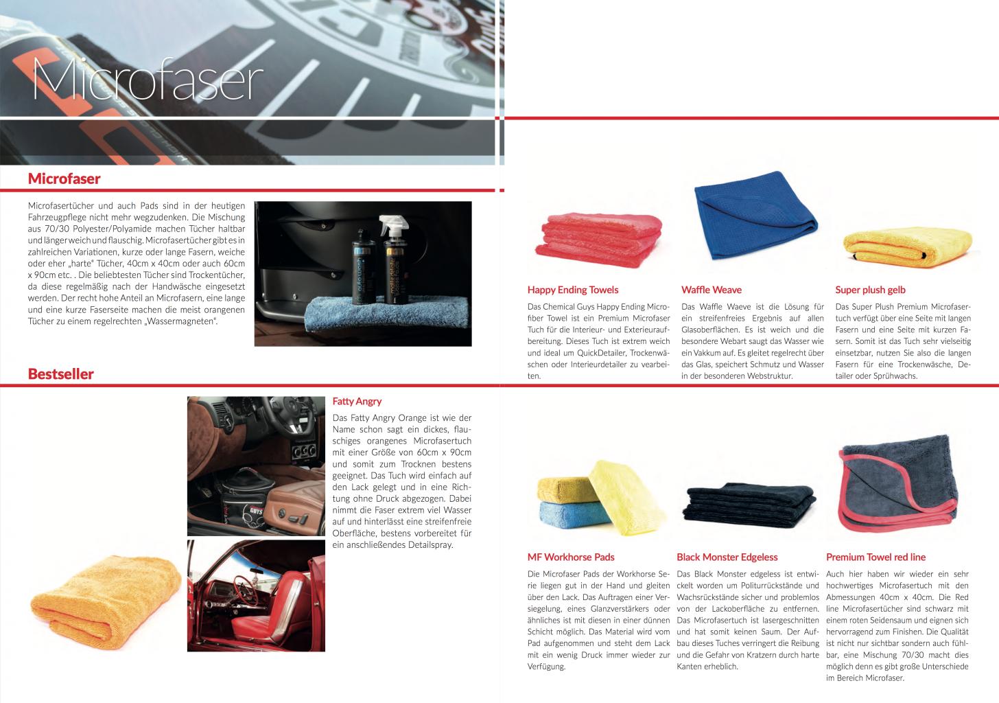 Chemical Guys Shop Deutschland Magazin Mag Katalog