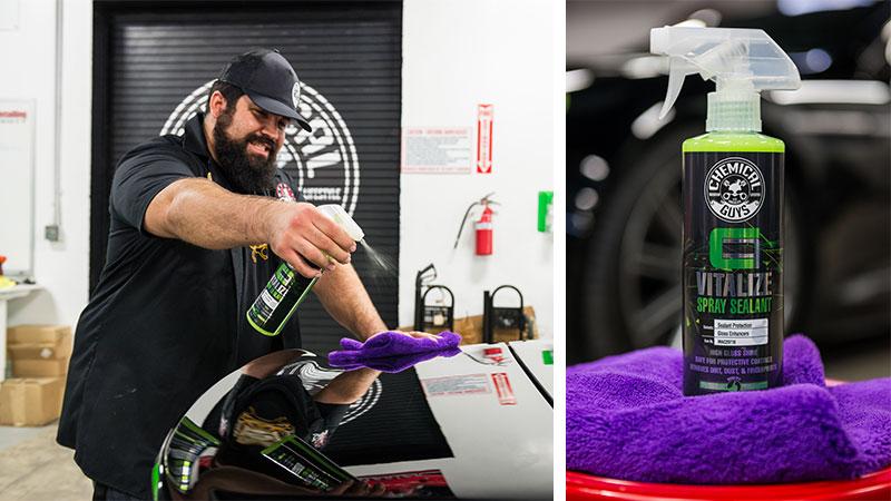 Chemical Guys Shop Deutschland Carbon Flex vitalize Sealant detailer Pflegespray für Coatings 473ml 3