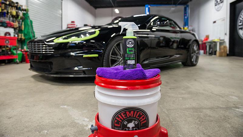 Chemical Guys Shop Deutschland Carbon Flex vitalize Sealant detailer Pflegespray für Coatings 473ml