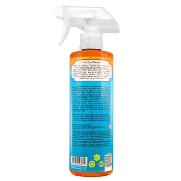 chemical guys shop deutschland sticky citrus cleaner gel wheel rim felgenreiniger 473ml 1