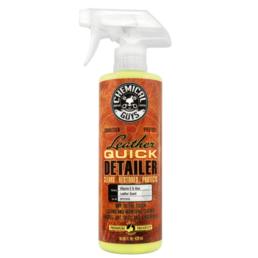 chemical guys shop deutschland leather quick detailer leder pflege matt spray 473ml