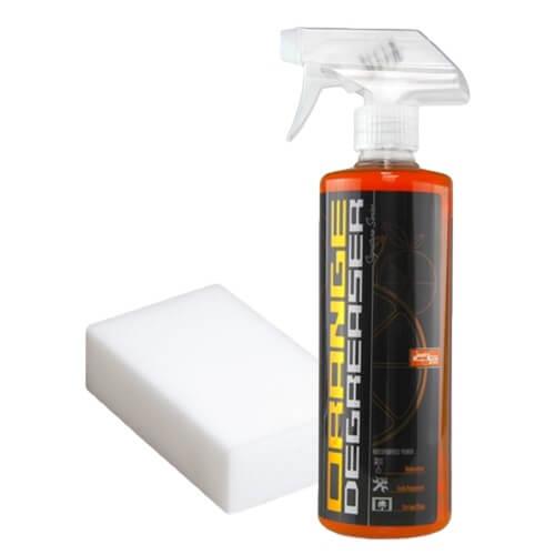 chemical guys shop deutschland matte folien lacke reinigungsset orange degreaser melaminschwamm