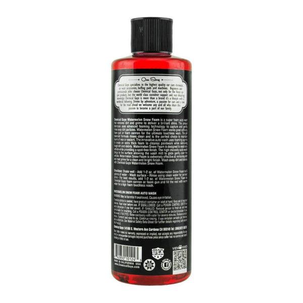 chemical guys shop deutschland watermelon snow foam shampoo soap wassermelone ph neutral 1