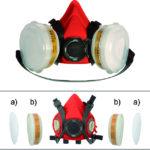 chemical guys deutschland german detailers arbeitsschutz atemschutz maske filter