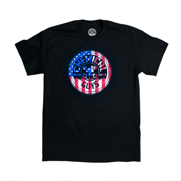chemical guys deutschland german detailers shirt the flag USA stars and stripes SHE721