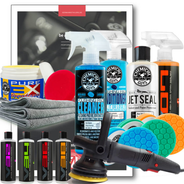 Chemical Guys Shop Deutschland German Detailers DIY Do it yourself profiline kit polieren versiegeln