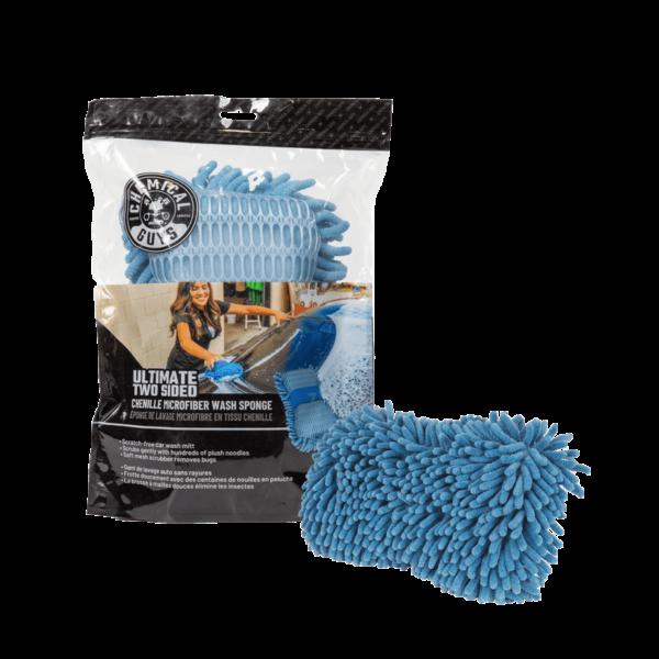 Chemical Guys Shop Deutschland Chenille wash sponge blau schwamm MIC495